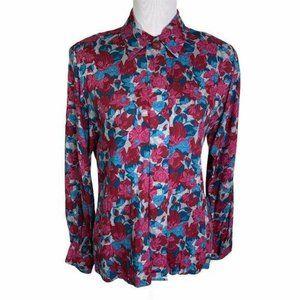 Pendleton Vintage Floral Button Down Shirt